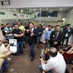 Maurão reafirma a policiais civis que Orçamento só será votado junto com PCCS