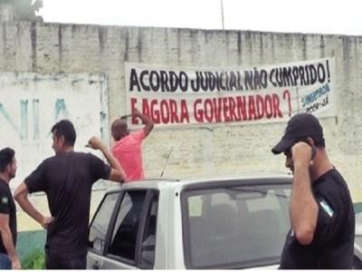 Agentes penitenciários iniciam mobilização para reivindicar PCCR e insalubridade
