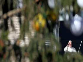 Ao inaugurar presépio, Papa lembra sofrimento de imigrantes