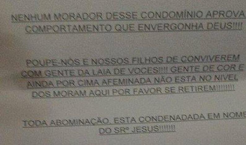 MP vai investigar ofensa racista e homofóbica a casal gay no Rio