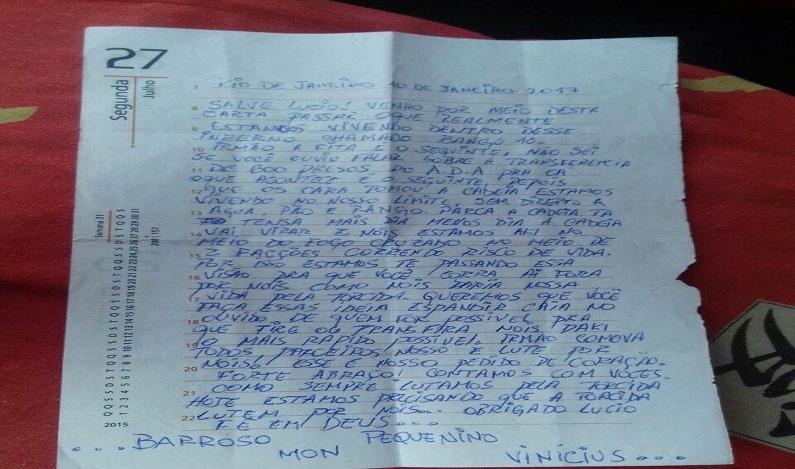 Com medo de guerra entre facções, corintianos presos em Bangu pedem transferência
