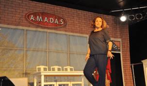 Elizabeth Savala apresenta peça teatral em Porto Velho