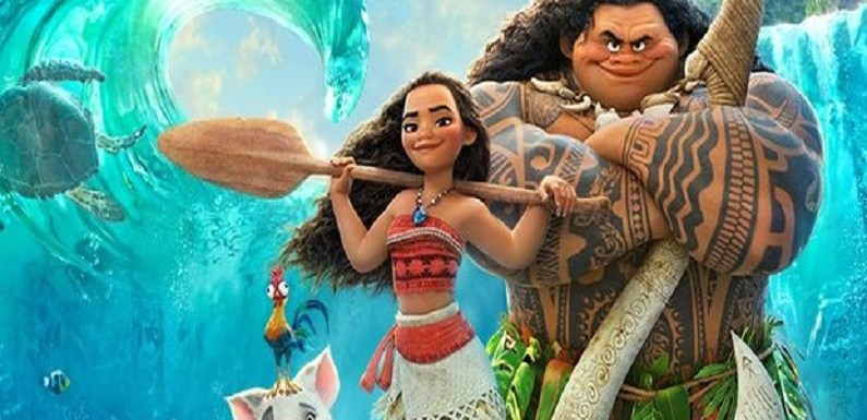 Moana – Um Mar De Aventuras, filme protagonizado por uma jovem com forte personalidade.