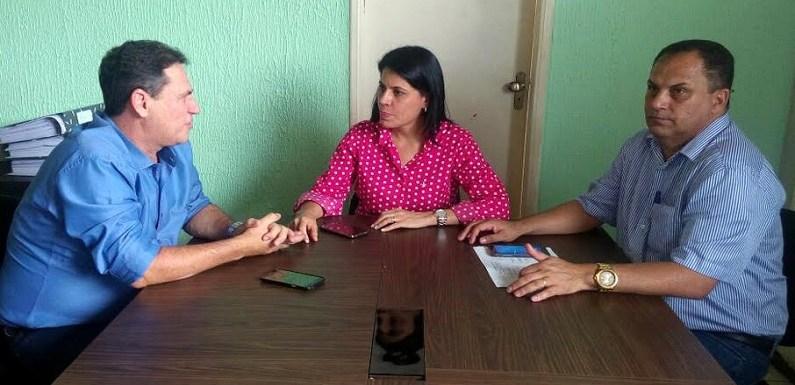 Maurão discute melhorias para a educação de Cacoal com prefeita e secretário