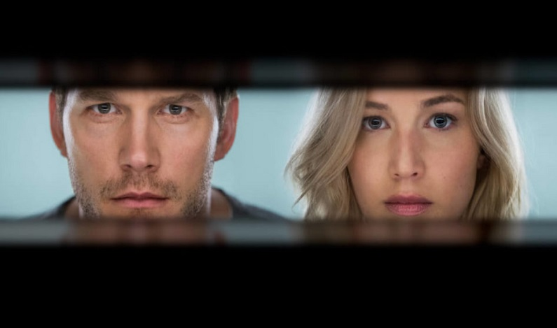 Passageiros, filme com Jennifer Lawrence e Chris Pratt chega aos cinemas.
