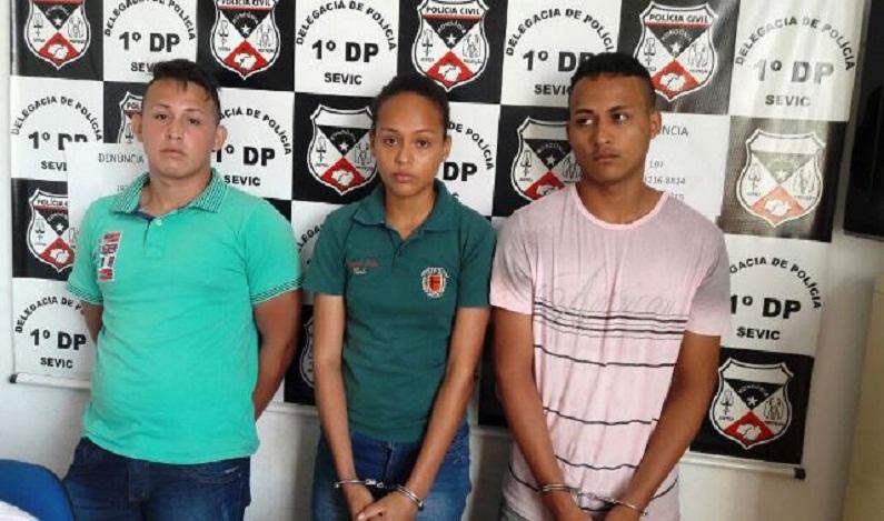 Polícia Civil prende irmãos que realizavam sequestro relâmpago em Porto Velho