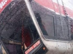 Van com passageiros capota e deixa cinco feridos no Ceará