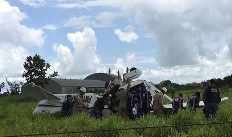 Avião que saiu do PR cai em Mato Grosso e duas pessoas morrem