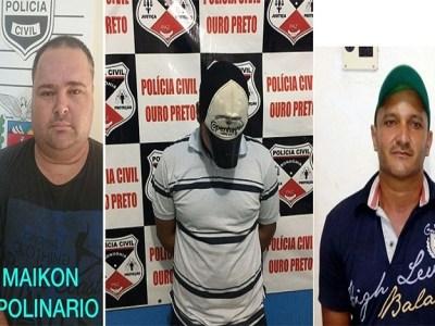 Polícia Civil prende quadrilha que aplicava golpes em Ouro Preto