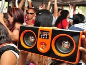 Moradores de Manaus poderão ser multados em até R$ 4 mil por ouvir som alto no ônibus