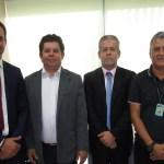 Expedito Netto e Secretário de Saúde de Porto Velho participam de reunião no Ministério da Saúde