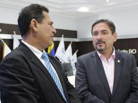 FECOMÉRCIO recebe o Presidente da Assembleia Legislativa para discutir propostas de desenvolvimento do Estado e do Comércio
