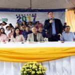 Maurão de Carvalho participa da entrega de 25 ônibus escolares em Cacoal