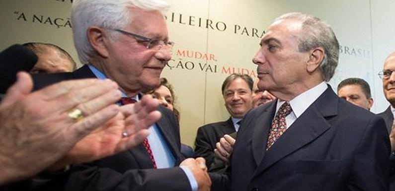 REDE entra com mandado de segurança que pede afastamento de Moreira Franco