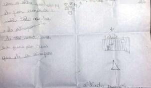 Em carta, menina denuncia abuso sexual cometido pelo pai às suas duas irmãs