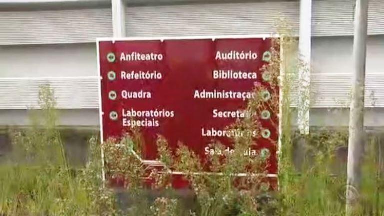 Centro de Educação de R$ 7 milhões está abandonado em SC