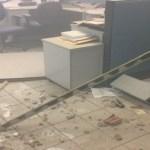 Quadrilha explode cofre de banco, faz reféns e metralha delegacia no RN