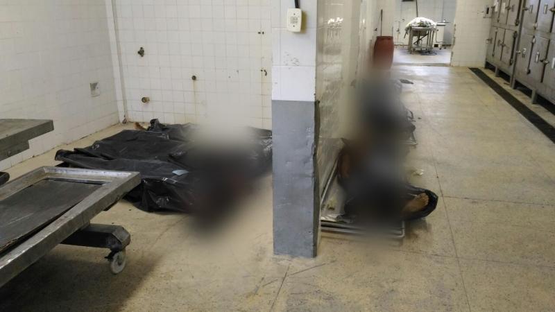 Corpos estão jogados no chão do IML de Vitória, já são 52 mortos