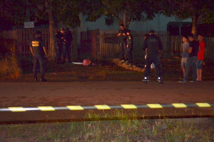 PM é assassinado com tiro no peito, no portão de casa, em Rondônia