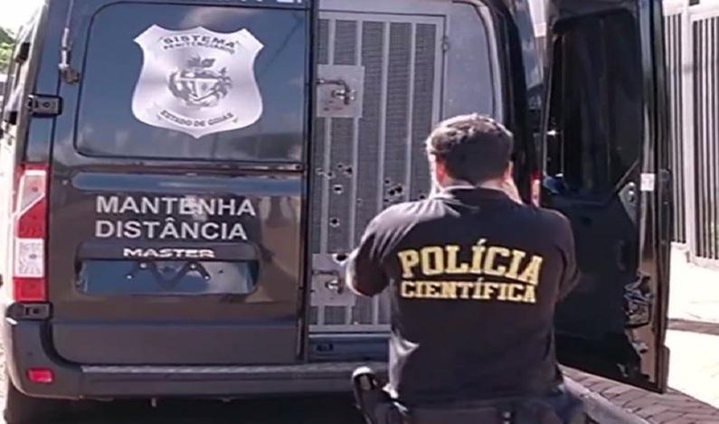 Detento é morto a tiros enquanto voltava de consulta médica, em Goiás