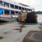Porto Cai N'Água será interditado após rompimento de cabos de sustentação