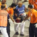 Após acidente com carro da Tijuca, dois seguem internados