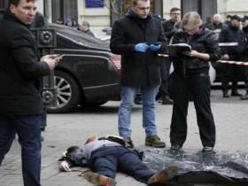 Ex-deputado russo é morto a tiros no centro de Kiev