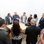 Alex Redano recebe membros do Conselho Regional de Óptica e Optometria