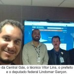 Prefeito Paciência garante recursos com Lindomar Garçon em Brasília