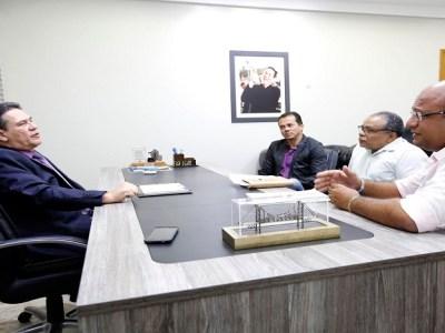 Maurão de Carvalho recebe pedidos de apoio para ações do Ifro
