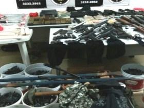 Quadrilha suspeita de roubo a bancos, Correios e carro-forte é presa no RN