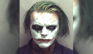 Fantasiado de 'Coringa', homem é preso nos Estados Unidos