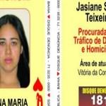 """Líder de facção ligada ao PCC, """"Dama de Copas"""" espalha terror no sul da Bahia"""