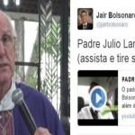 "Padre chama Bolsonaro de ""homofóbico""; deputado rebate - Vídeo"