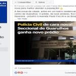 Usuários são banidos de página da Secretaria da Segurança de SP