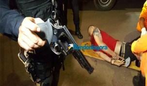 Bandido sequestra casal que namorava perto do aeroporto, mas é preso após trocar tiros com a PM