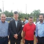 Deputado Edson Martins recepciona diretor geral do Dnit