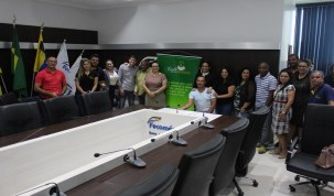 Fecomércio-RO debate coleta de resíduos sólidos com a Semusb e Sema