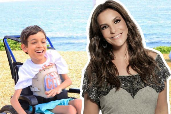 Ivete Sangalo faz campanha para ajudar menino com doença rara