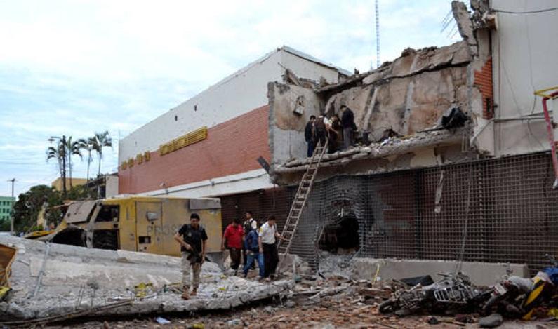 Polícia recupera parte do dinheiro roubado da Prosegur no Paraguai