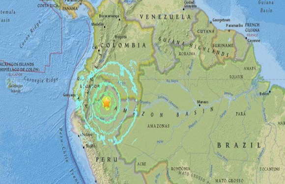 Terremoto de 6 graus de magnitude é registrado na Amazônia