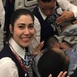 Mulher dá à luz durante voo com ajuda da tripulação