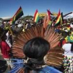 Indígenas promovem novo ato na Esplanada