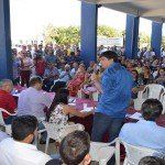 Cleiton Roque participa de comemoração do Dia do Trabalho em Pimenta Bueno