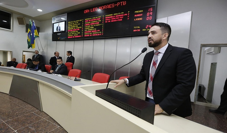 Deputado Léo Moraes pede ações urbanísticas em ruas da capital