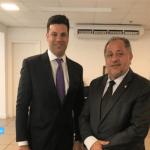 Luiz Cláudio solicita recursos para Rondônia no Ministério dos Esportes