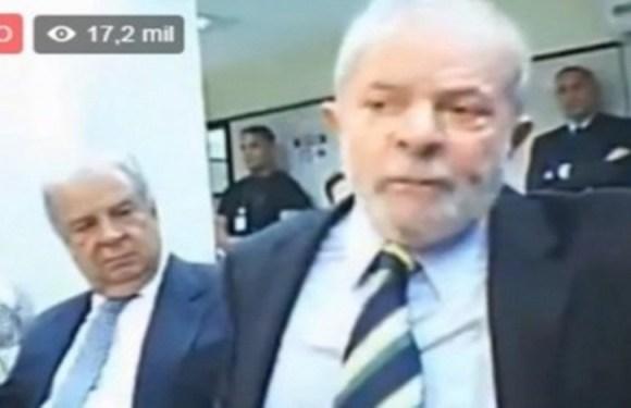 """Transmissão """"fake"""" da audiência de Lula engana usuários no Facebook"""