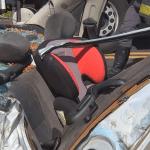 Criança na cadeirinha sai ilesa de acidente grave que deixou quatro feridos em rod. de Oscar Bressane (SP)