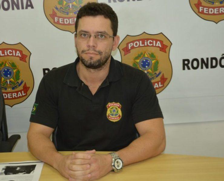 Delegado Heliel Martins foi o responável pela Operação Vasos de Ouro (Foto: Hosana Morais/G1)