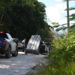 Três corpos são encontrados queimados dentro de caminhonete na Zona Rural de Vilhena (RO)